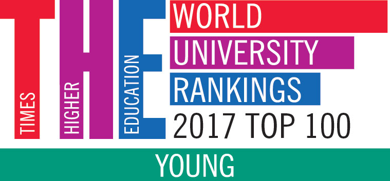 "Top 100 du ""Young University Rankings"" du Times Higher Education"