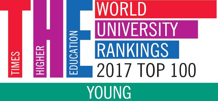 "Top 100 du ""Young University Rankings"" du Times Higher Education"