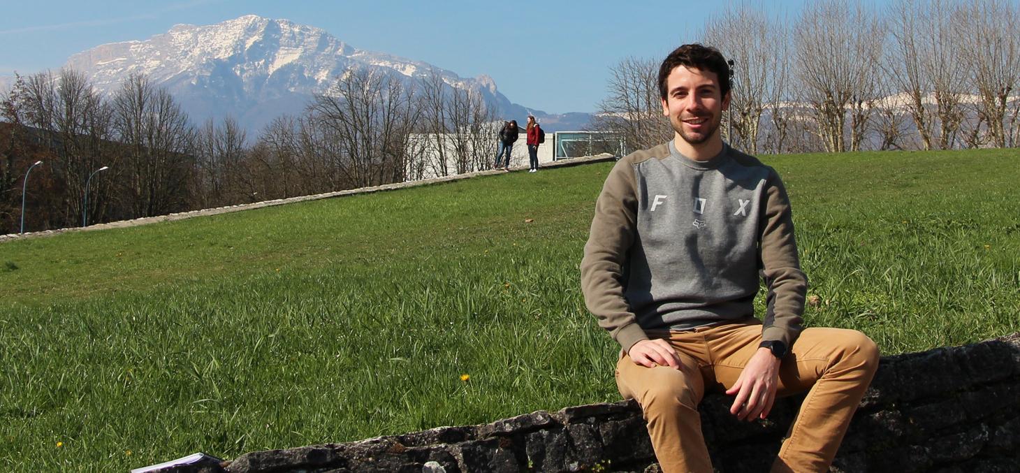 Théo Micheletti, créateur de Dose de sport