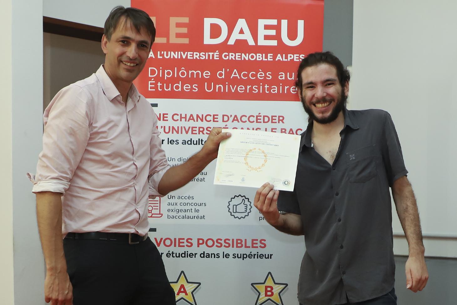 La cérémonie de remise de diplômes du DAEU 2019