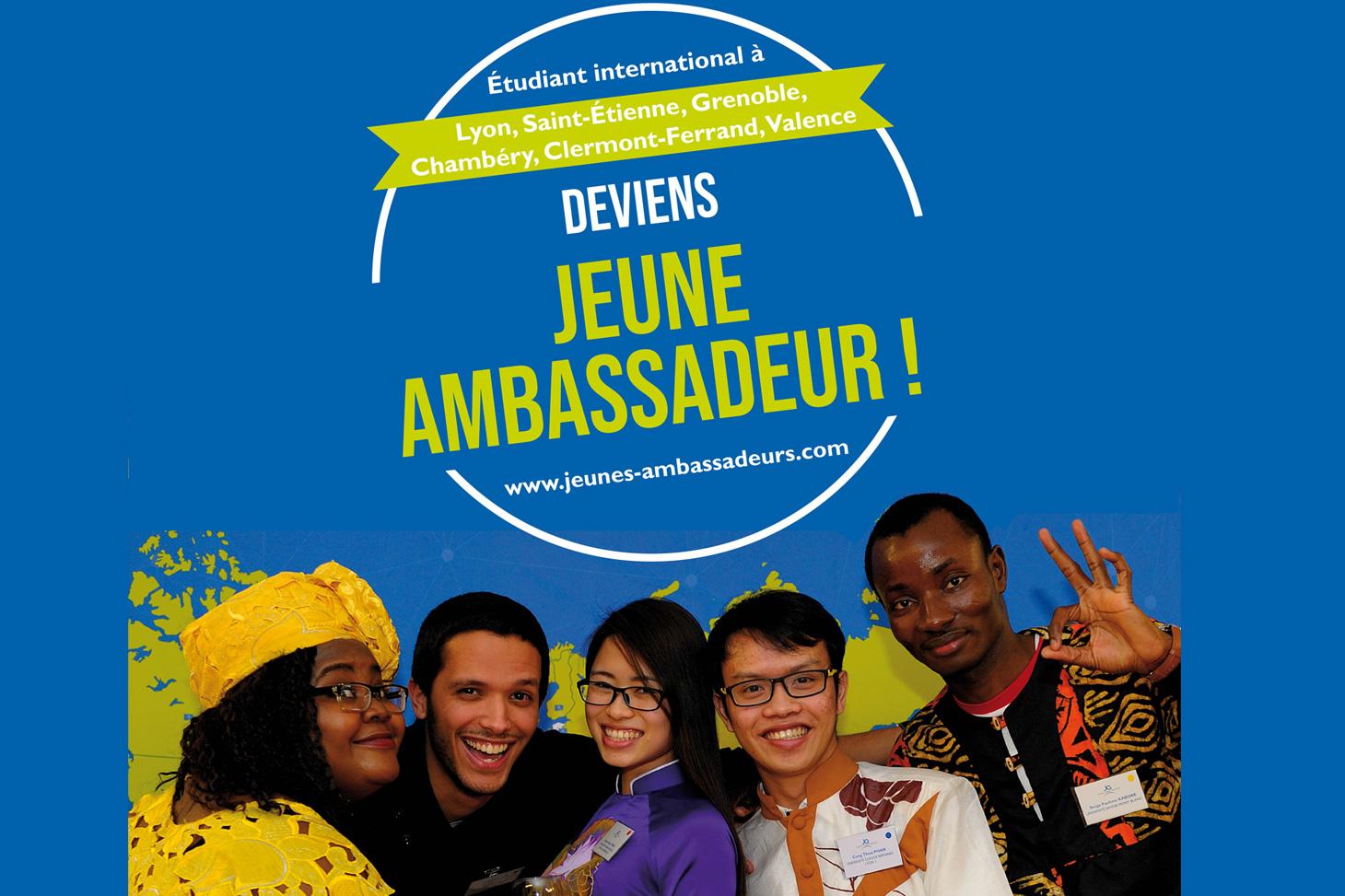 Etudiants internationaux du programme Jeunes ambassadeurs