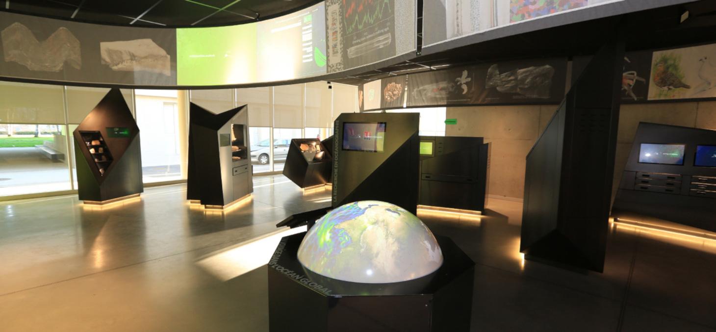 Espace muséographique de l'Observatoire des Sciences de l'Univers de Grenoble (OSUG) © P. Jacquet / OSUG