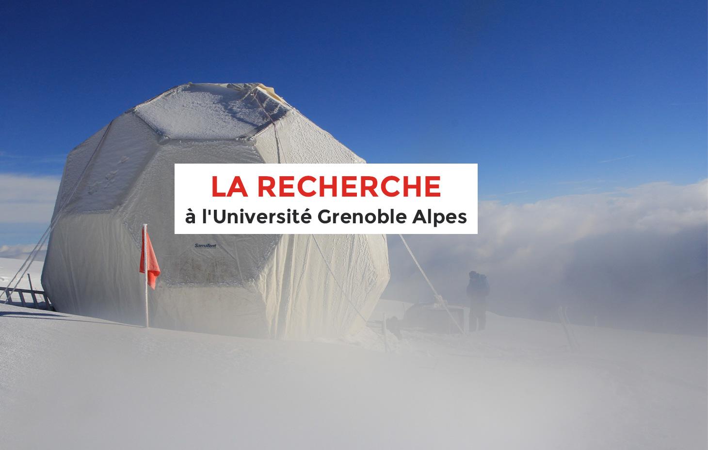Expédition d'étude en glaciologie - recherche - UGA