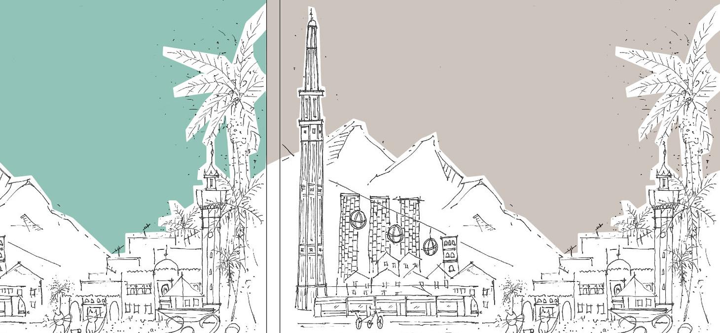 Atelier pour les étudiants en urbanisme du projet Grenoble-Sfax