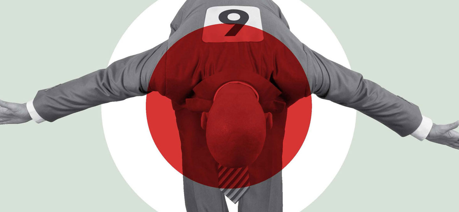 Affiche de la 5ème édition du concours national de théatre du CROUS