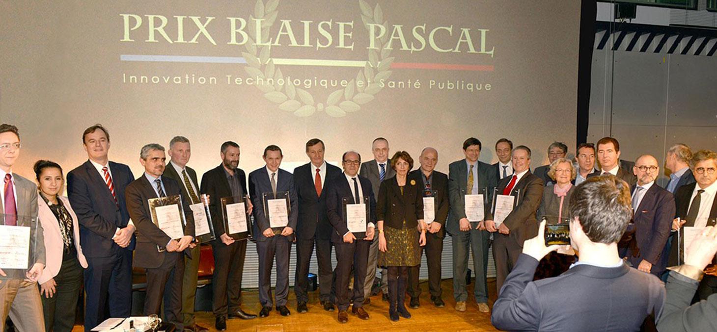 Texisense reçoit le prix Blaise Pascal