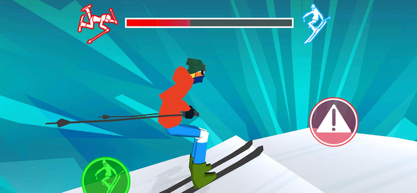 Capture d'écran du jeu vidéo Snowpark Challenge