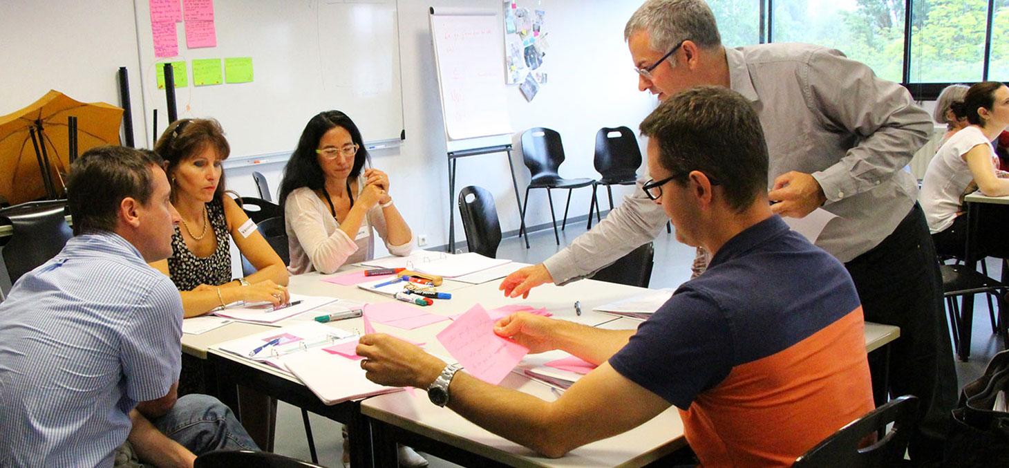 Les enseignants de l'UGA se forment à des méthodes pédagogiques innovantes. © Promising