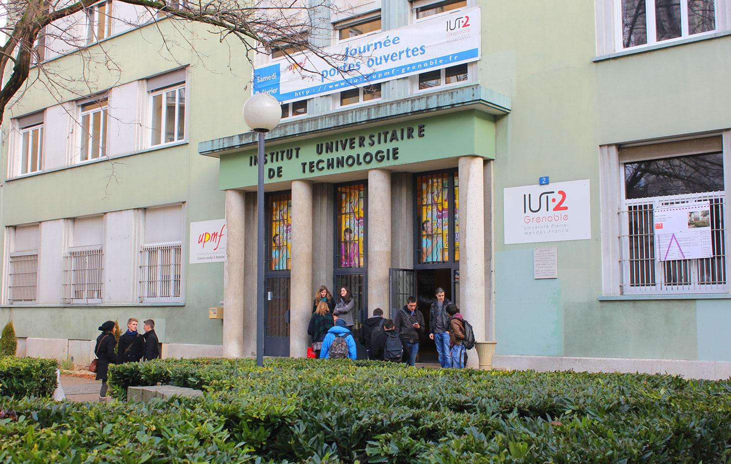 Batiment IUT 2 de Grenoble