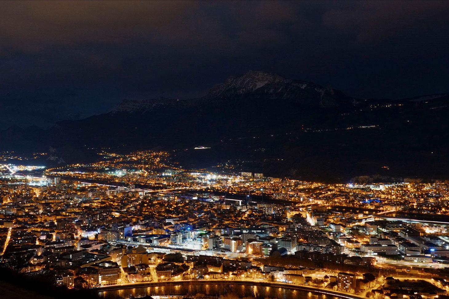 Vue de Grenoble extraite du film documentaire © Miroir